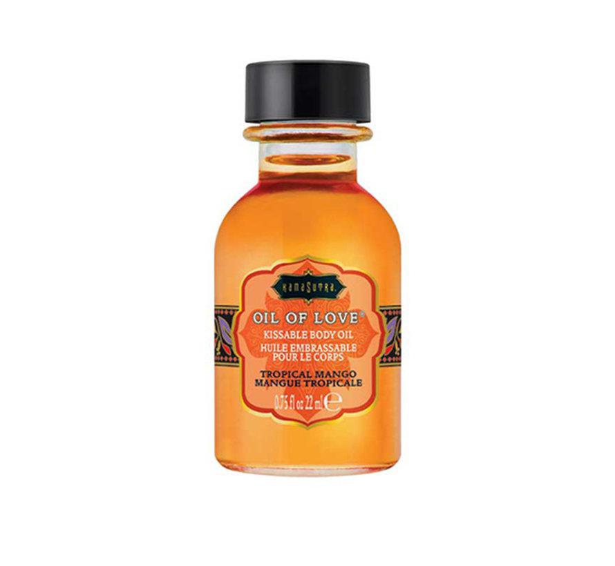 Kama Sutra - Oil of Love Kusbare Lichaamsolie Tropische Mango 22 ml