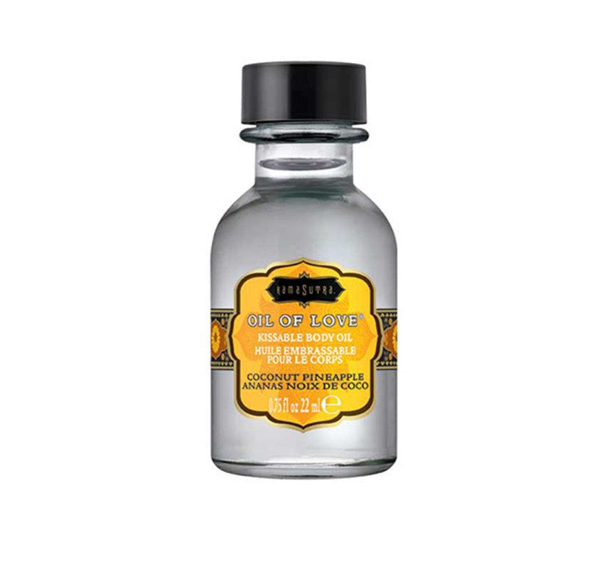 Kama Sutra - Oil of Love Kusbare Lichaamsolie Kokosnoot Ananas 22 ml