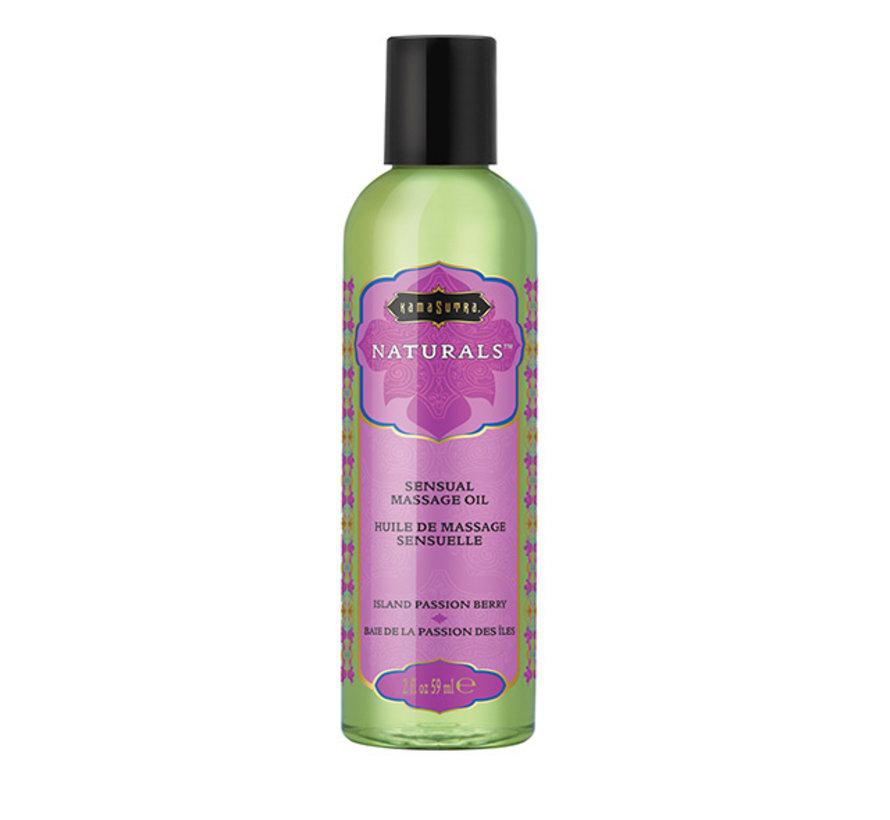 Kama Sutra - Naturals Massage Olie Passiebes 59 ml