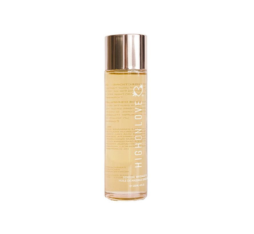 HighOnLove - Massage Olie Aardbei & Champagne 120 ml