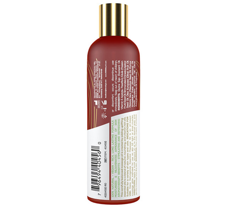 Dona - Essential Massage Olie Reinvigorate Kokosnoot Limoen 120 ml