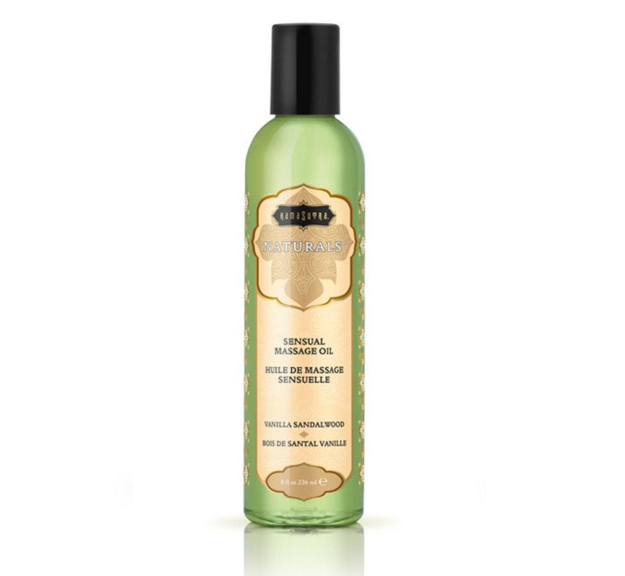 Kama Sutra - Naturals Massage Olie Vanille Sandelhout 236 ml