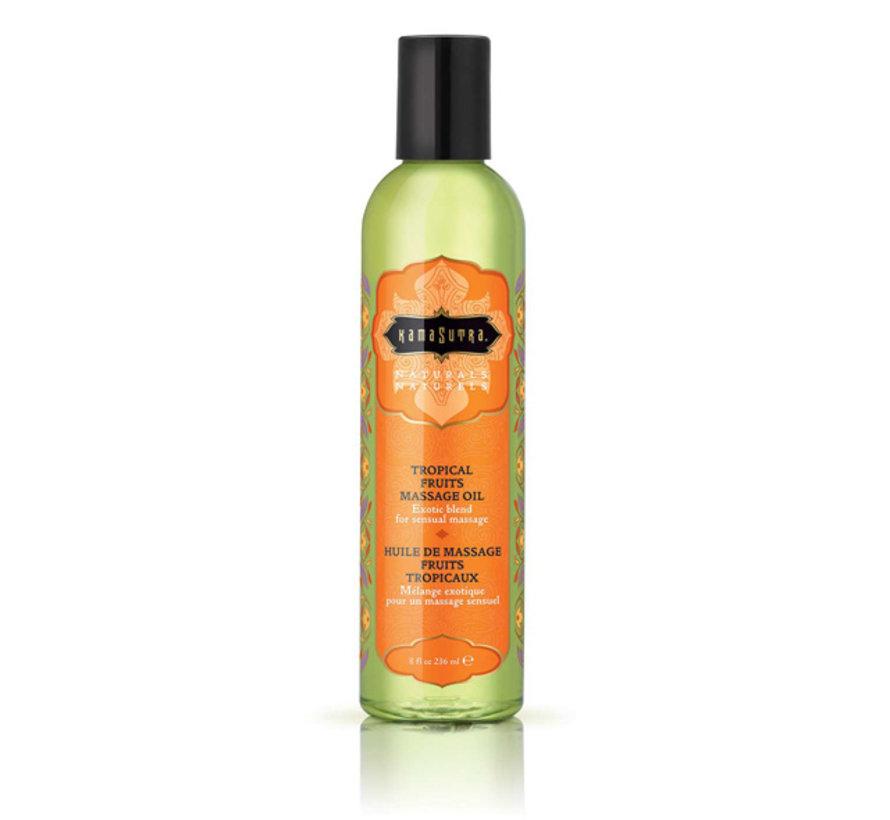 Kama Sutra - Naturals Massage Olie Tropische Vruchten 236 ml