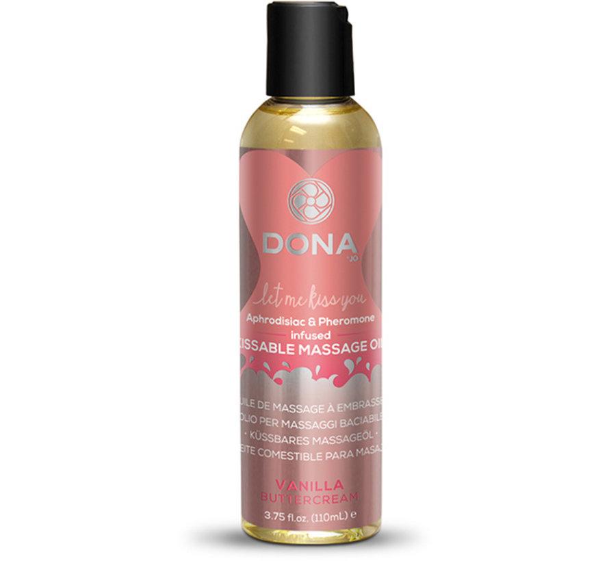 Dona - Kissable Massage Olie Vanille Botercreme 110 ml