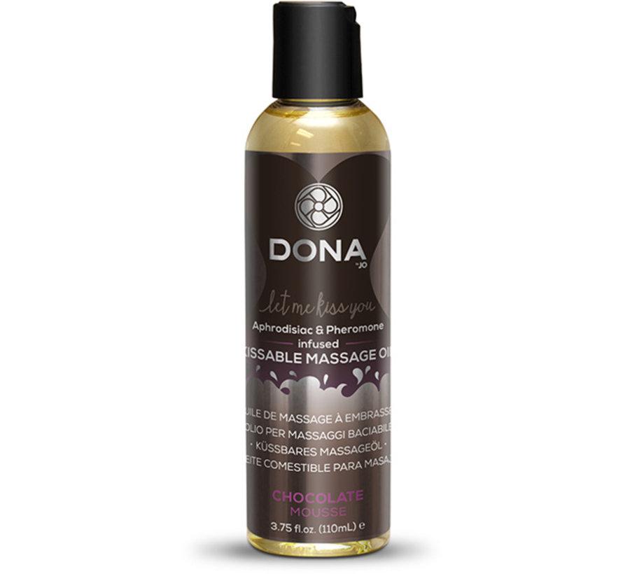 Dona - Kissable Massage Olie Chocolade Mousse 110 ml