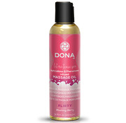 Dona Dona - Scented Massage Olie Blushing Berry 110 ml