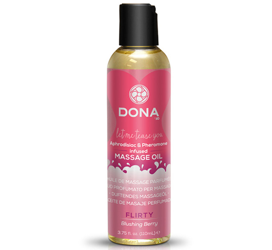 Dona - Scented Massage Olie Blushing Berry 110 ml