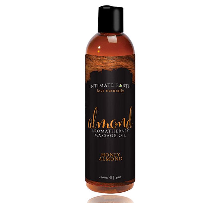 Intimate Earth - Massage Olie Amandel 240 ml