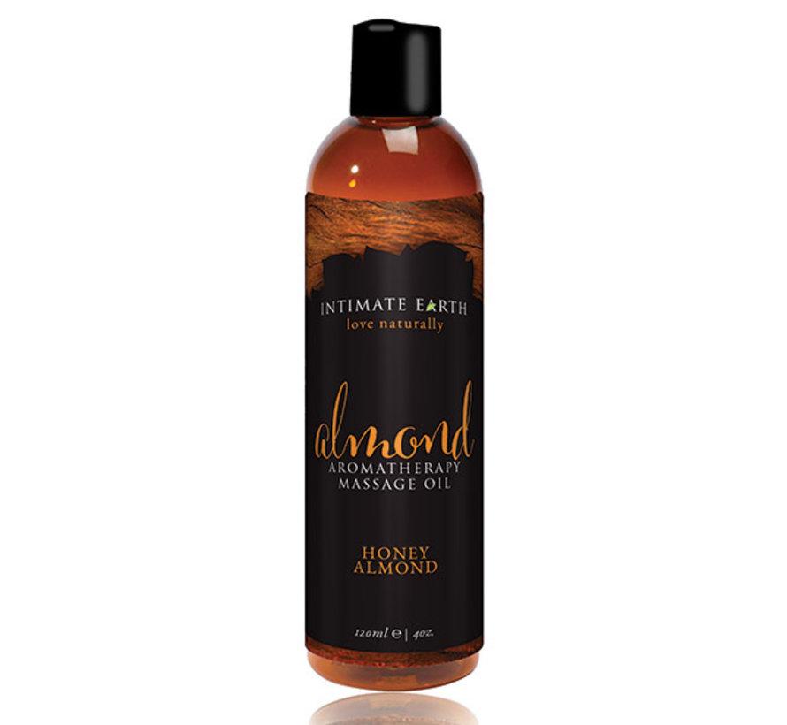 Intimate Earth - Massage Olie Amandel 120 ml