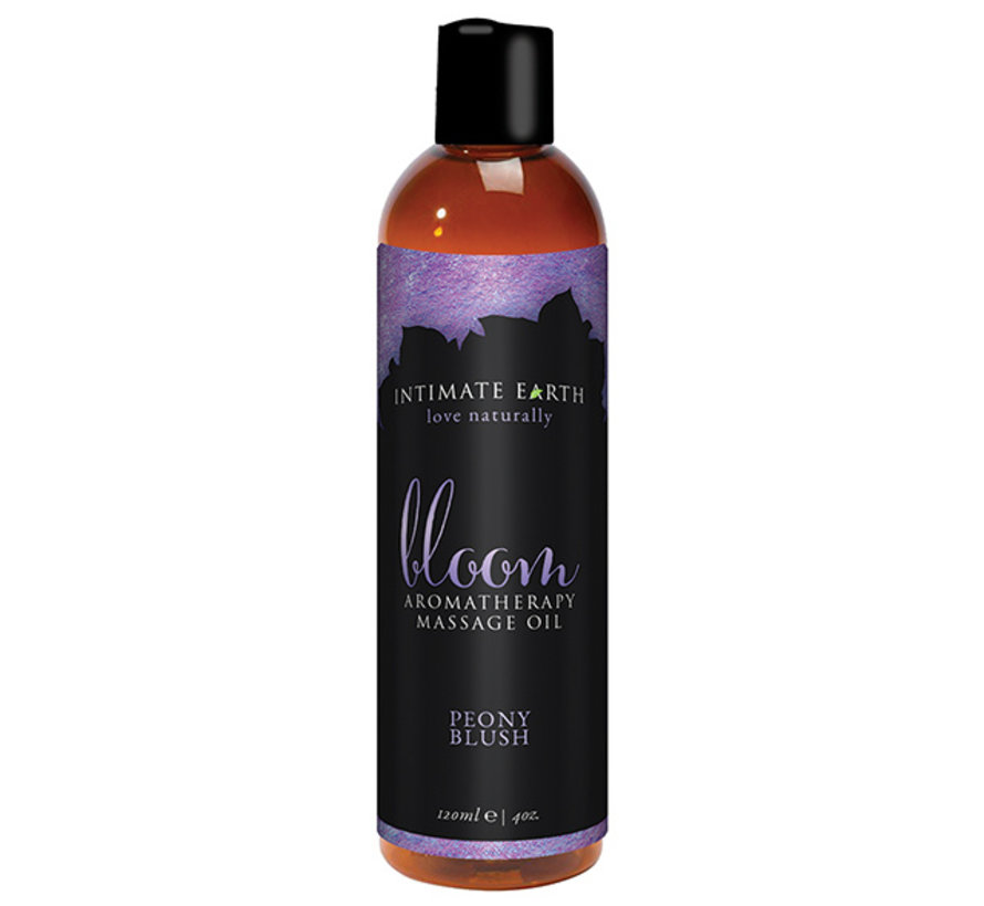 Intimate Earth - Massage Olie Bloom 240 ml