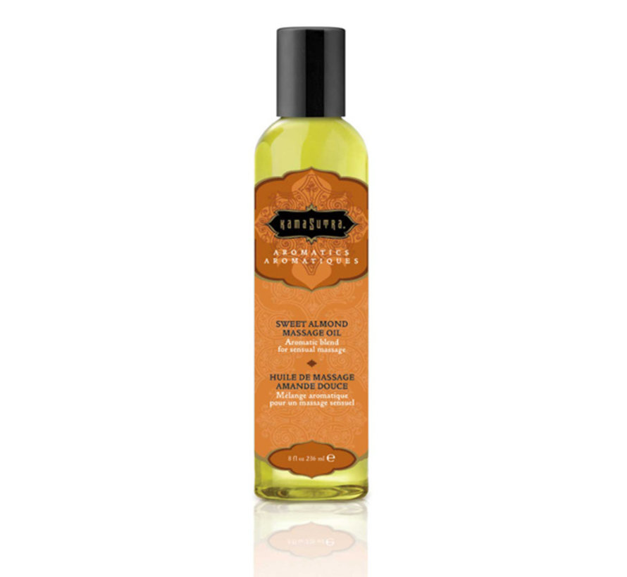Kama Sutra - Aromatic Massage Olie Zoete Amandel 236 ml