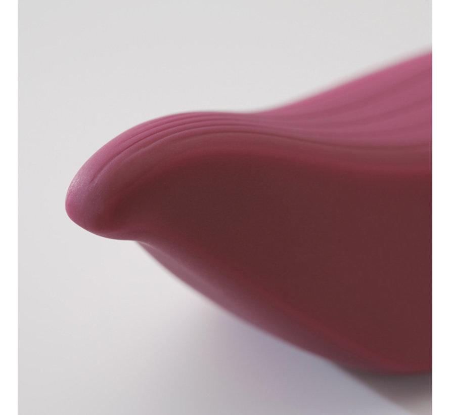Iroha by Tenga - Tori Clitorale Vibrator Donker Rood