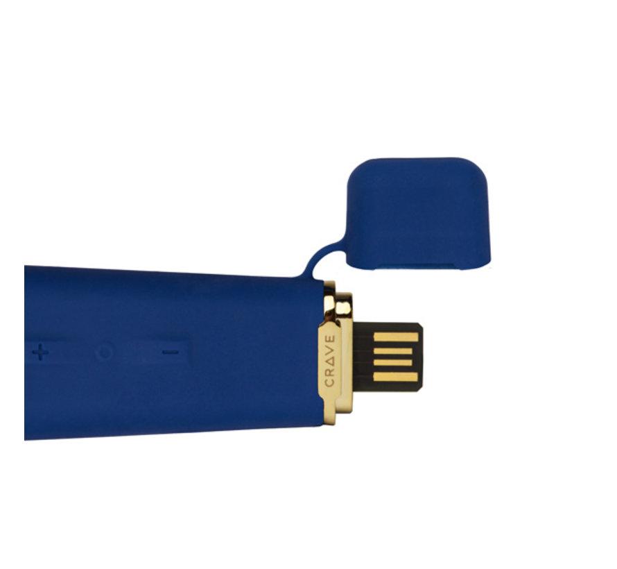 Crave - Duet Flex Vibrator Blauw