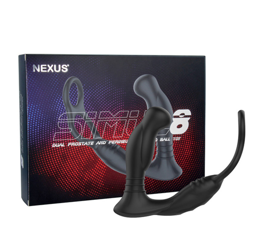 Nexus - Simul8 Vibrating Dual Motor Anal Cock and Ball Toy