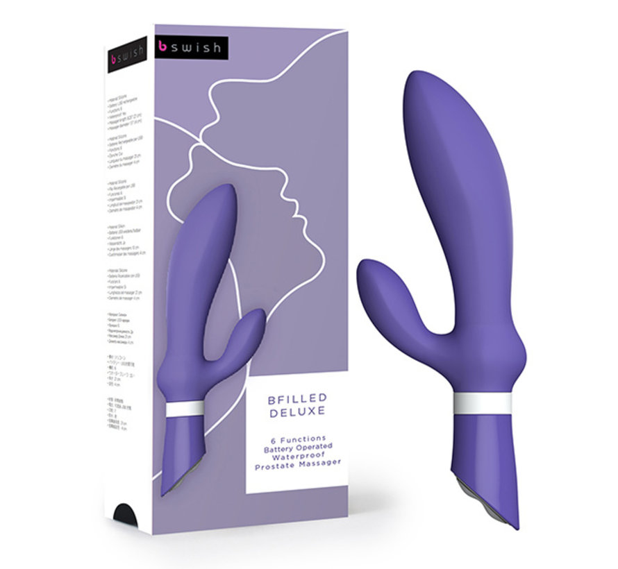 B Swish - bfilled Deluxe Prostaat Massager Paars