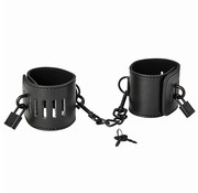 Sex & Mischief S&M - Shadow Locking Cuffs