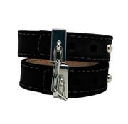 Crave Crave - Leather Cuffs Black