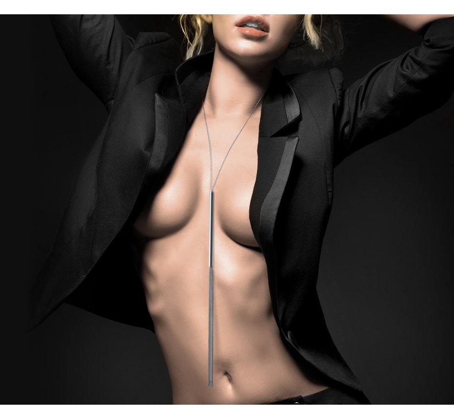 Bijoux Indiscrets - Magnifique Zweep Ketting Zilver