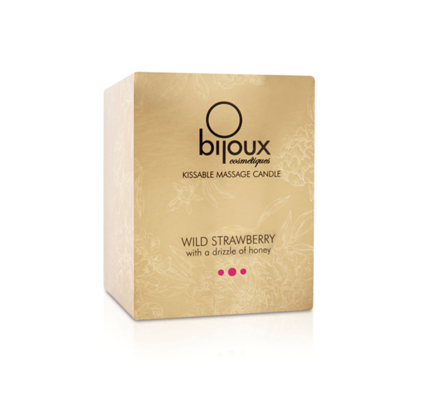 Bijoux Cosmetiques - Massagekaars Wilde Aardbei