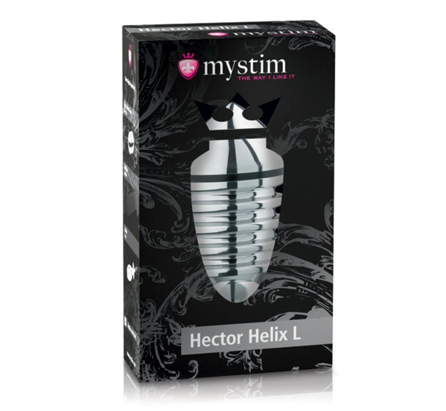 Mystim - Hector Helix Butt Plug L
