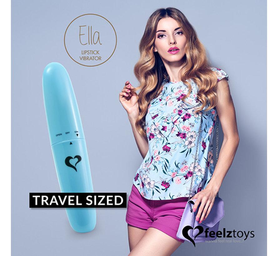 FeelzToys - Ella Lipstick Vibrator Blauw