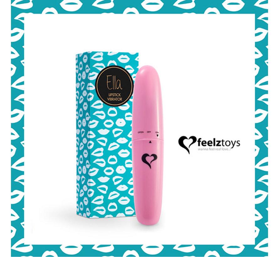 FeelzToys - Ella Lipstick Vibrator Roze