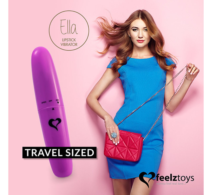 FeelzToys - Ella Lipstick Vibrator Paars
