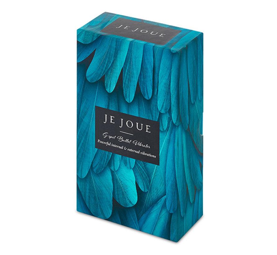 Je Joue - G-Spot Bullet Vibrator Turquoise Blauw