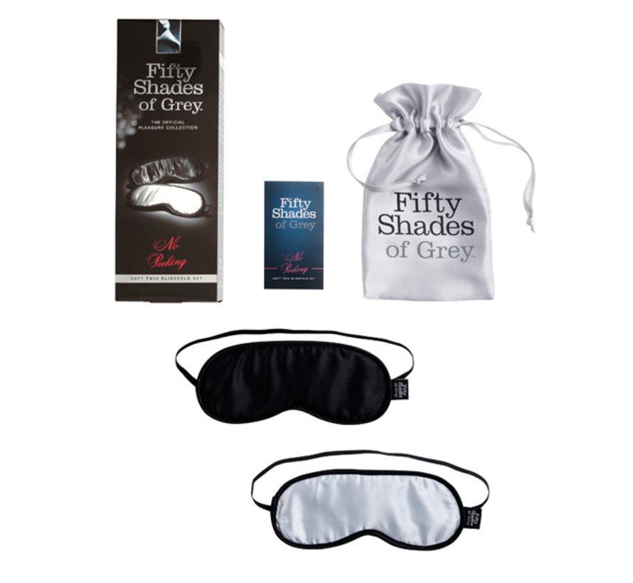 Fifty Shades of Grey - Zachte Blinddoek Duopak