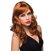 Pleasure Wigs Pruik Aubrey - Rood