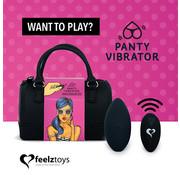 Feelztoys FeelzToys - Panty Vibe Remote Controlled Vibrator Black