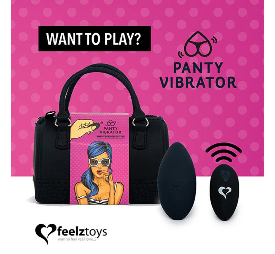 FeelzToys - Panty Vibe Remote Controlled Vibrator Zwart
