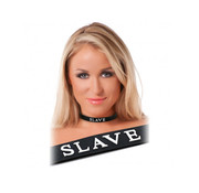 Rimba RIMBA - Siliconen Halsband Slave