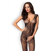 Crotchless Lace Bodystocking