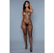 Keep Up Tonight Lace Catsuit