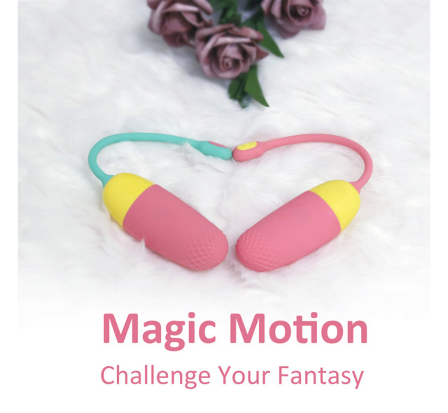 Magic Motion - Vini App Controlled Love Egg Oranje