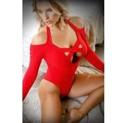 Havana Nights Long-Sleeved Bodysuit