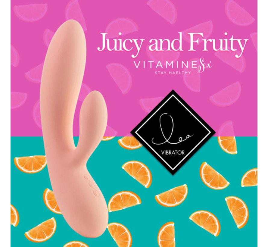 FeelzToys - Lea Rabbit Vibrator Citrus