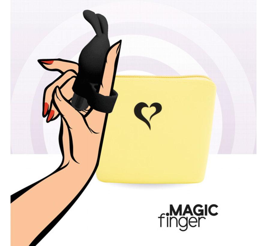 FeelzToys - Magic Finger Vibrator Zwart