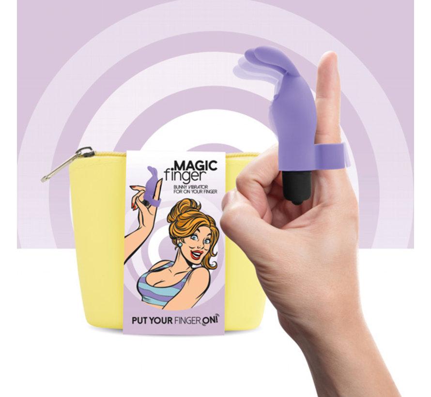 FeelzToys - Magic Finger Vibrator Paars