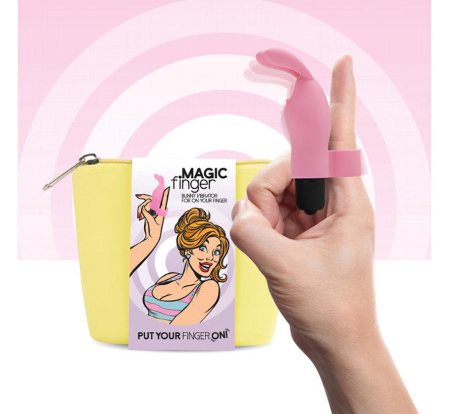 FeelzToys - Magic Finger Vibrator Roze