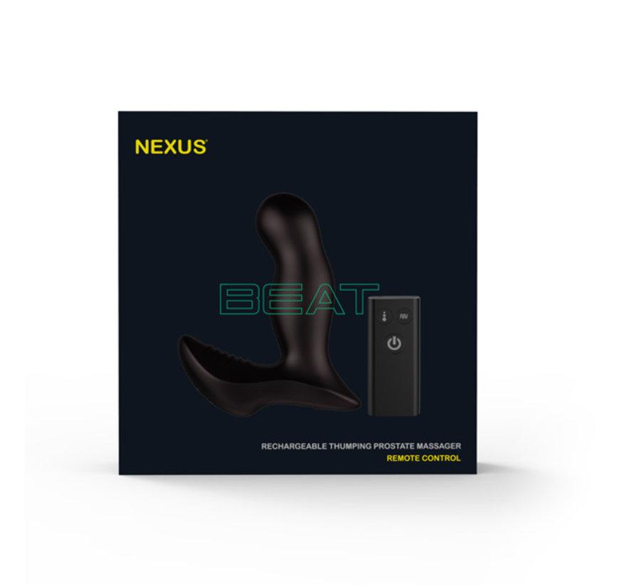 Nexus - Beat Remote Control Prostate Thumper Zwart