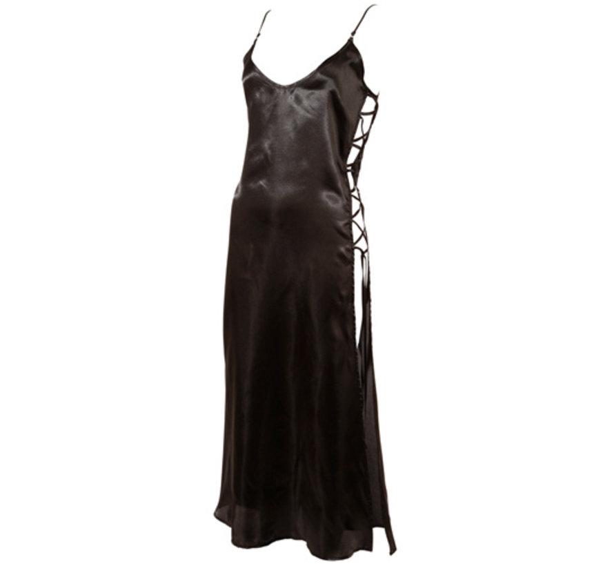 Long Negligee - Black