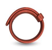 VelvOr Velv'Or - Rooster Jason Size Adjustable Firm Strap Design Cock Ring Rood