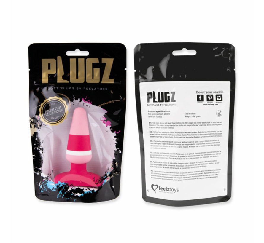 FeelzToys - Plugz Butt Plug Gekleurd Nr. 2