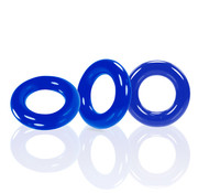 Oxballs Oxballs - Willy Rings 3-pack Cockrings Blauw