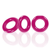 Oxballs Oxballs - Willy Rings 3-pack Cockrings Roze