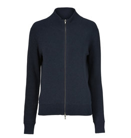 Gustav Lurex zip cardigan
