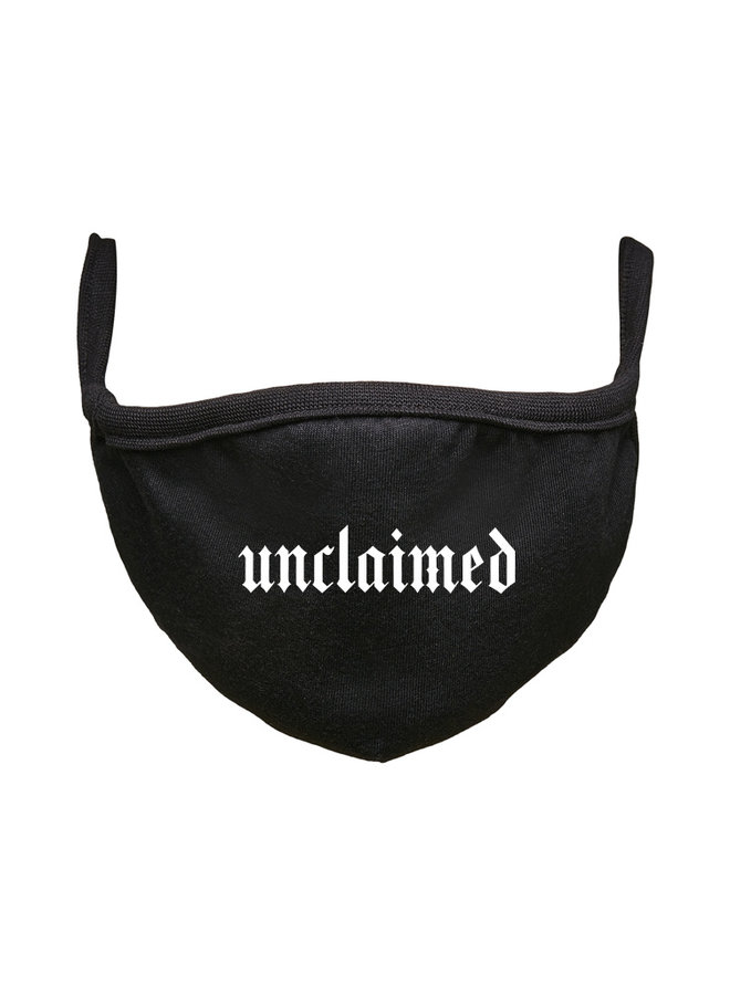 Unclaimed face mask black