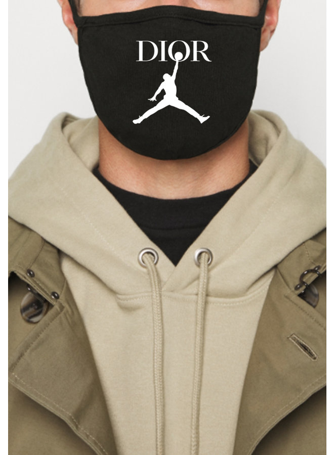 Jump face mask black